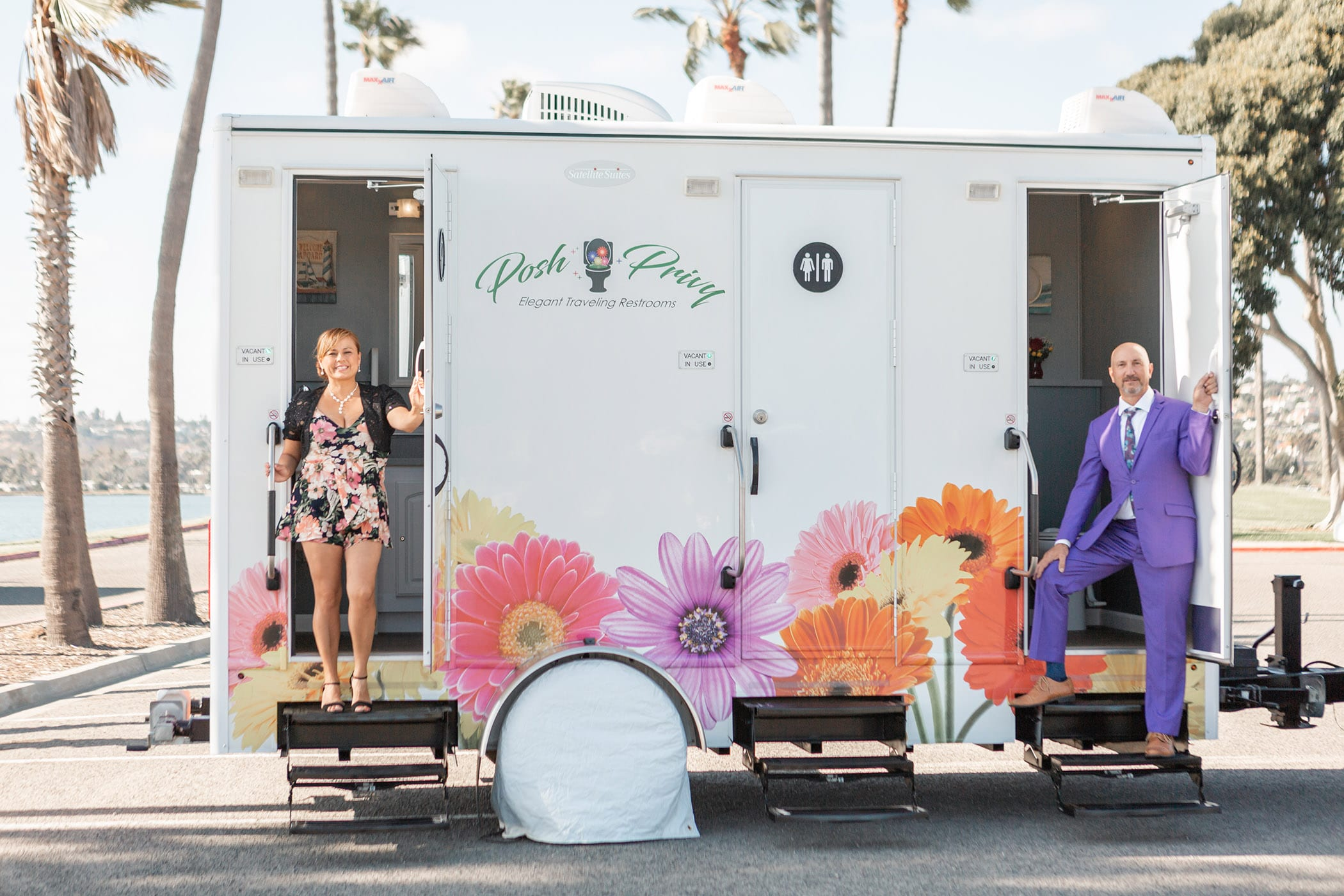 Business Spotlight: Posh Privy by San Diego Style Weddings
